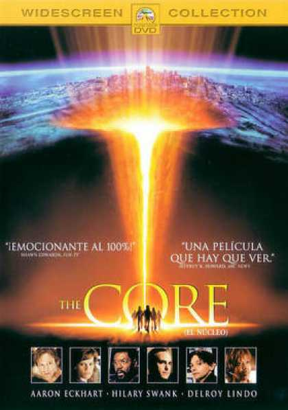 Spanish DVDs - The Core
