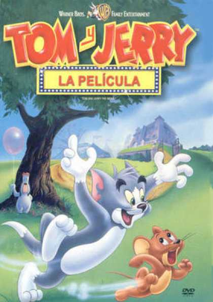 Spanish DVDs - Tom And Jerry The Movie