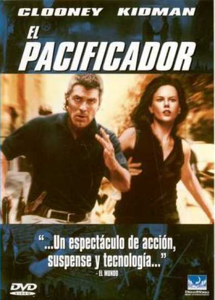 Spanish DVDs - The Peacemaker
