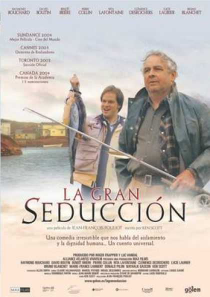 Spanish DVDs - The Great Seduction