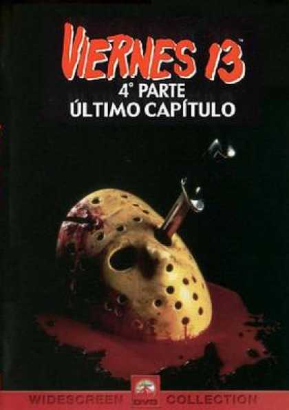 Spanish DVDs - Friday 13th Part 4