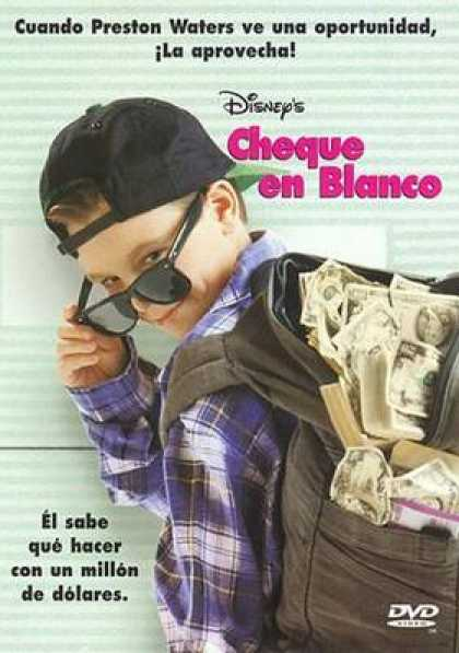 Spanish DVDs - Blank Check