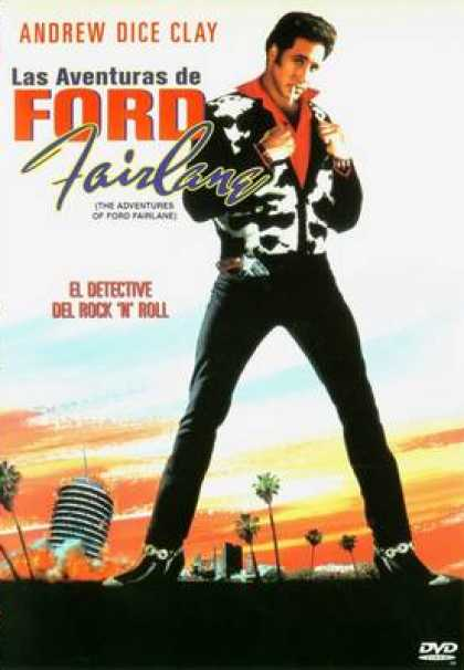 Spanish DVDs - The Adventures Of Ford Fairlane