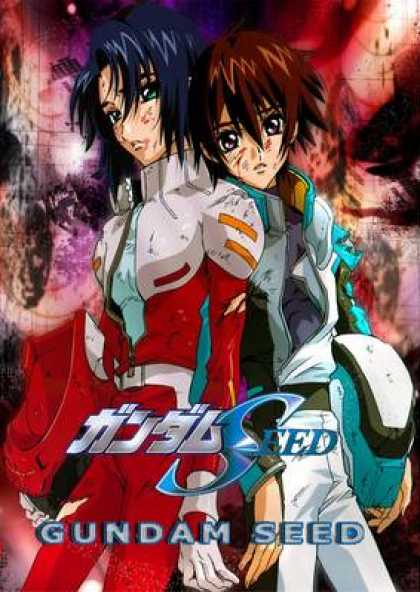 Spanish DVDs - Gundam Seed