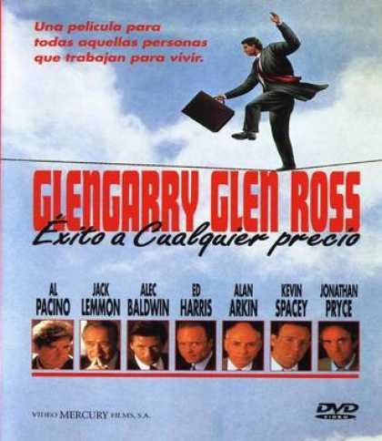 Spanish DVDs - Glen Gary Glen Ross