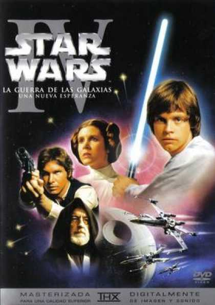 Spanish DVDs - Star Wars Trilogy A New Hope