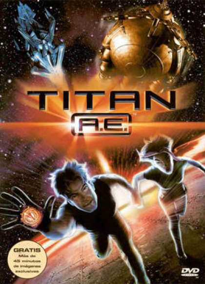 Spanish DVDs - Titan Ae