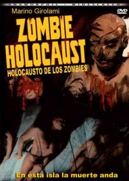 Spanish DVDs - Zombie Holocaust