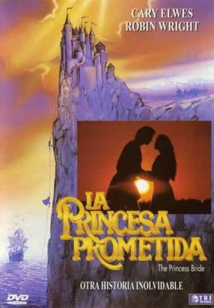 Spanish DVDs - The Princes Bride