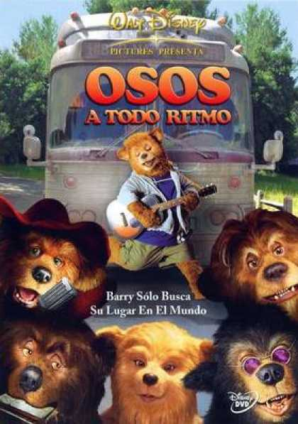 Spanish DVDs - The Country Bears