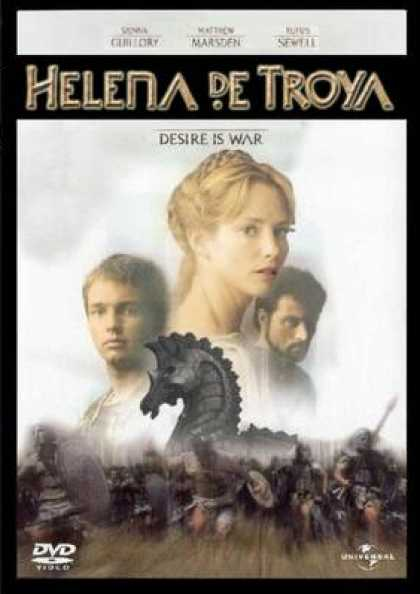 Spanish DVDs - Helen Of Troy