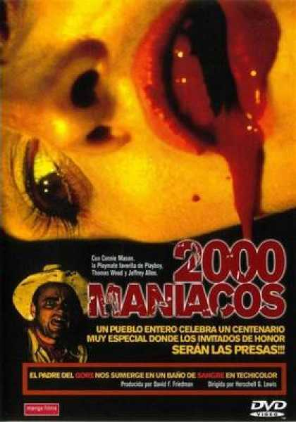 Spanish DVDs - 2000 Maniacs