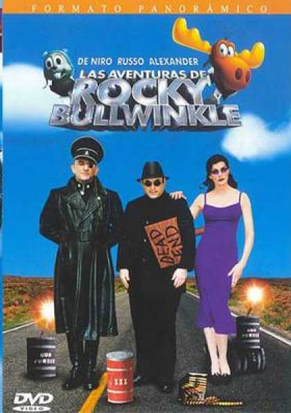 Spanish DVDs - The Adventures Of Rocky And Bullwinkle
