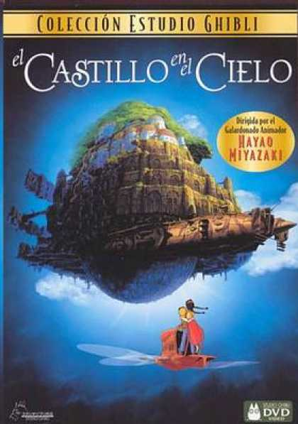 Spanish DVDs - The Castle In The Sky