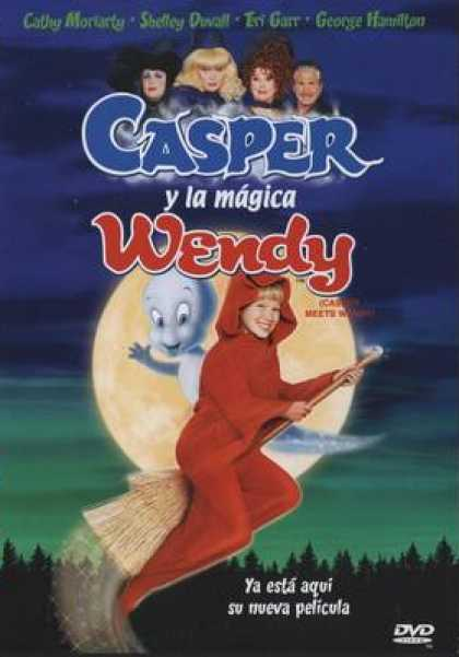 Spanish DVDs - Casper Meet Wendy