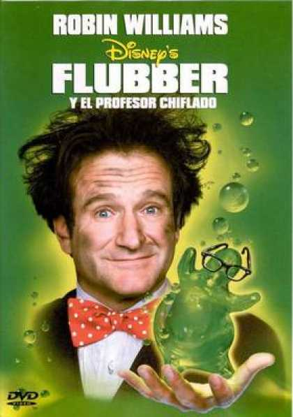 Spanish DVDs - Flubber