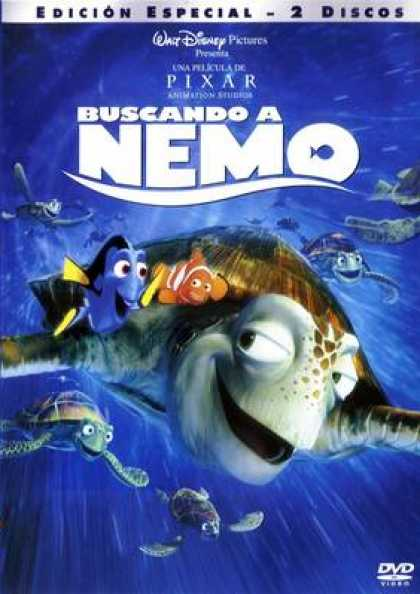 Spanish DVDs - Finding Nemo Two