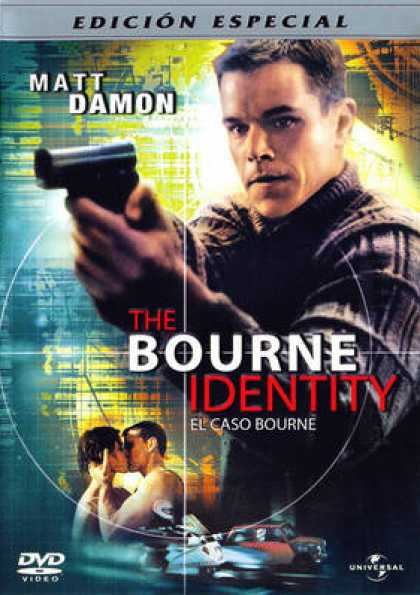 Spanish DVDs - The Bourne Identity Special