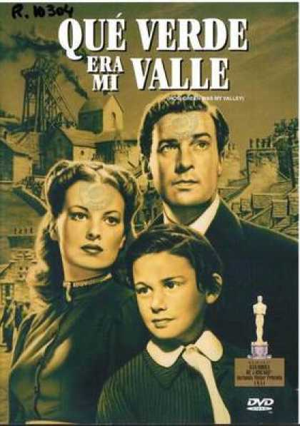 Spanish DVDs - How Green Was My Valley