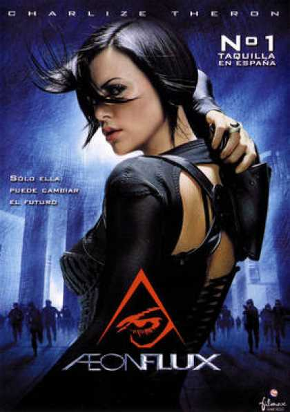 Spanish DVDs - Aeon Flux