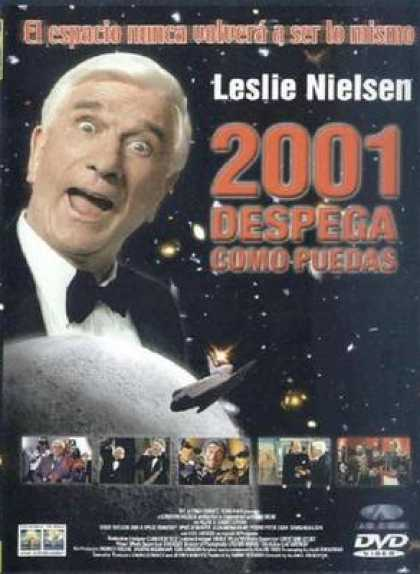 Spanish DVDs - 2001: A Space Travesty