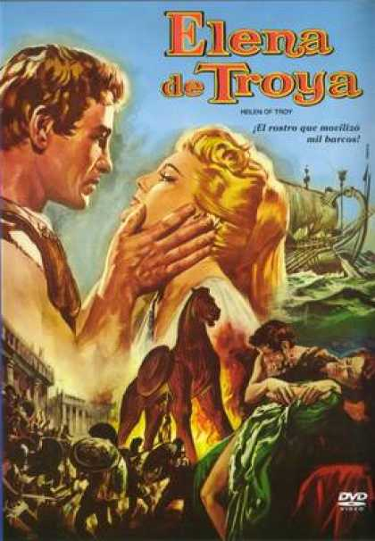 Spanish DVDs - Helen Of Troy 1955
