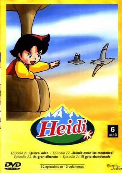 Spanish DVDs - Heidi The Collection Vol 6