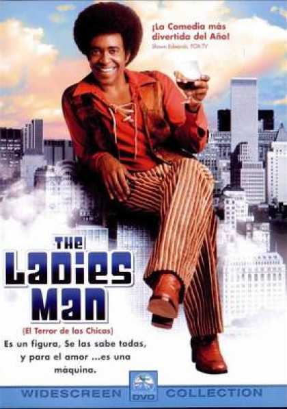 Spanish DVDs - The Ladies Man Widescreen Collection