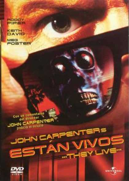 Spanish DVDs - They Live