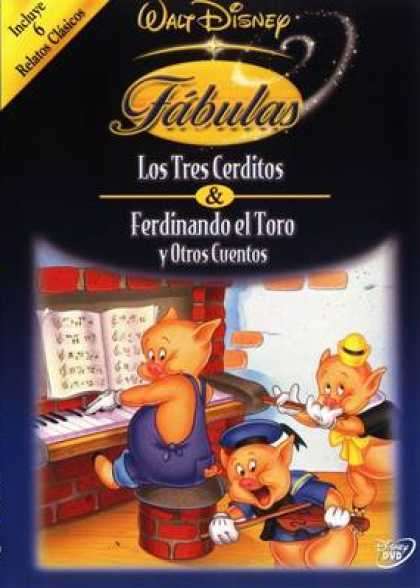 Spanish DVDs - The Fabulous World Of Disney Volume 5