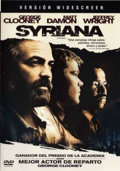 Spanish DVDs - Syriana