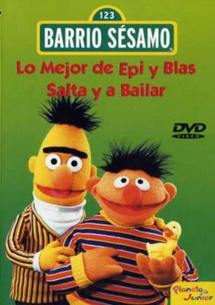 Spanish DVDs - Sesame Street The Best Of Epi And Blas