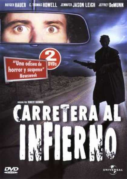 Spanish DVDs - The Hitcher