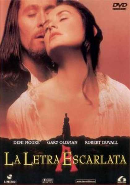 Spanish DVDs - The Scarlet Letter