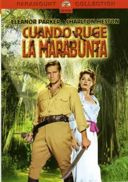 Spanish DVDs - The Naked Jungle
