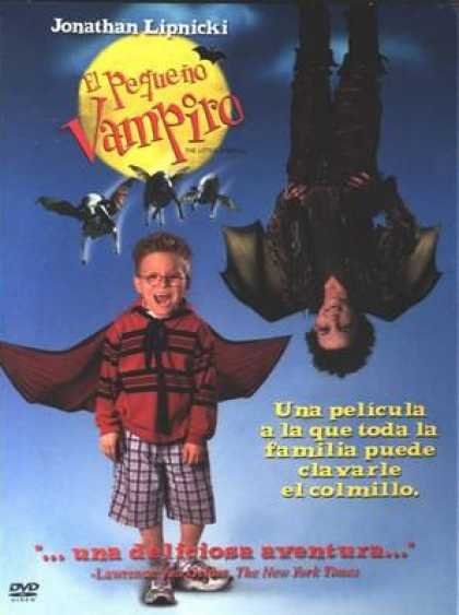 Spanish DVDs - The Little Vampire