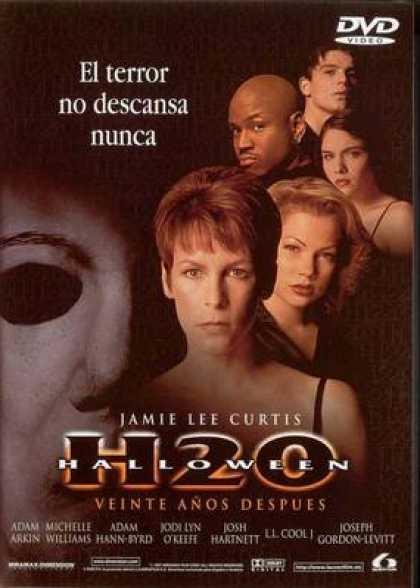Spanish DVDs - Halloween H 20