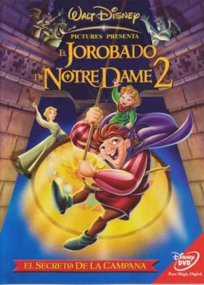 Spanish DVDs - The Hunchback Of Notre Dame 2. The Hunchback Of Notre Dame 2