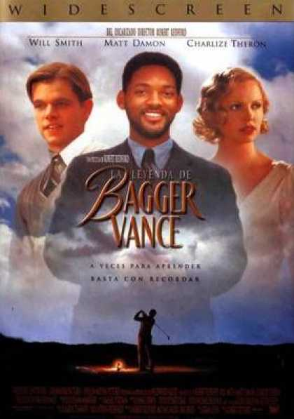 Spanish DVDs - The Legend Of Bagger Vance