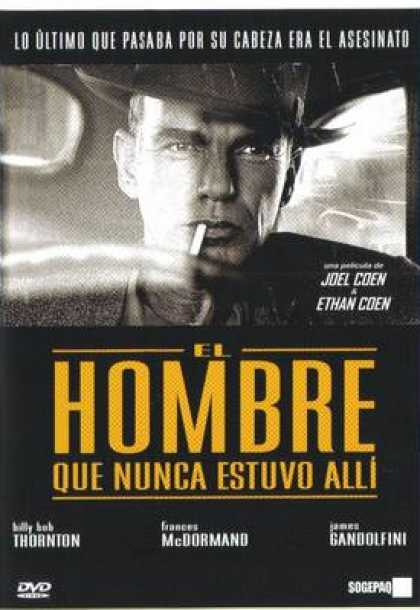 Spanish DVDs - The Man Who Wasnt There