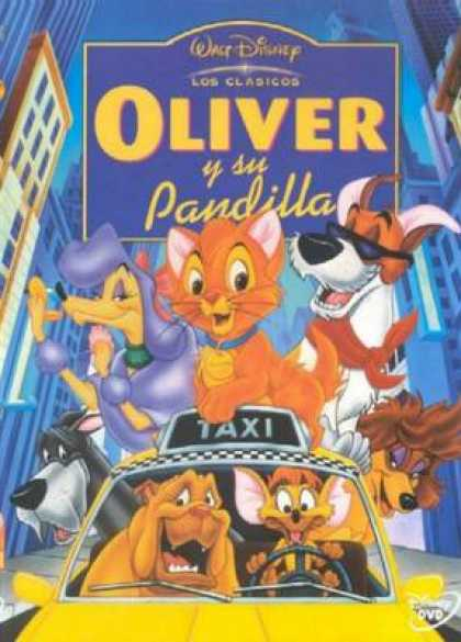 Spanish DVDs - Oliver And Company