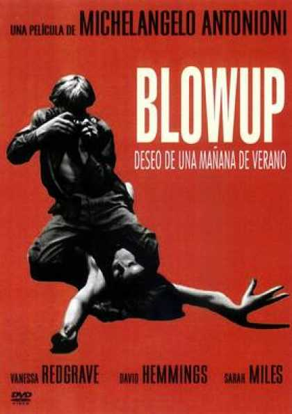 Spanish DVDs - Blow Up