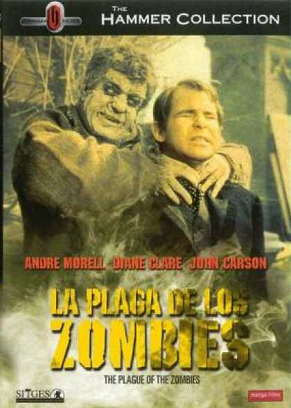 Spanish DVDs - The Plague Of The Zombies
