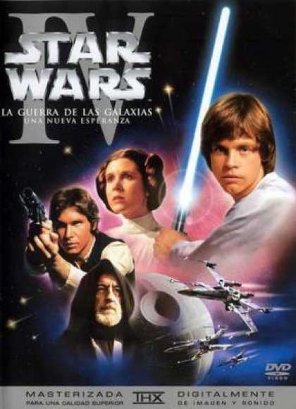 Spanish DVDs - Star Wars Episode 4 A New Hope