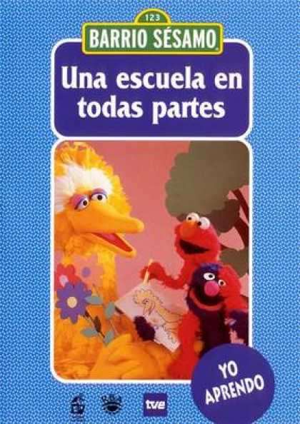 Spanish DVDs - Sesame Street Volume 7