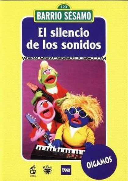 Spanish DVDs - Sesame Street Volume 14