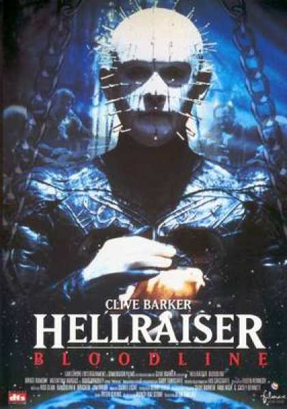 Spanish DVDs - Hellraiser 4 Bloodline