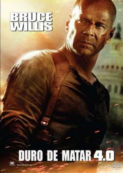 Spanish DVDs - Die Hard 4.0
