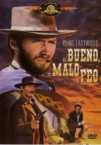 Spanish DVDs - The Good, The Bad And The Ugly SPANISH R4