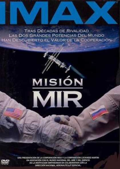 Spanish DVDs - Imax Mission Mir